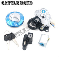 Motorbike/Motorcycle For Shadow VLX VT 750 400 600 Ignition Switch Gas Cap Cover Seat Lock Key Set Motorcycle
