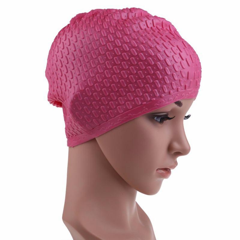 Silicona Impermeable Proteger el Oído de Partículas Partículas Mujeres Gorra de