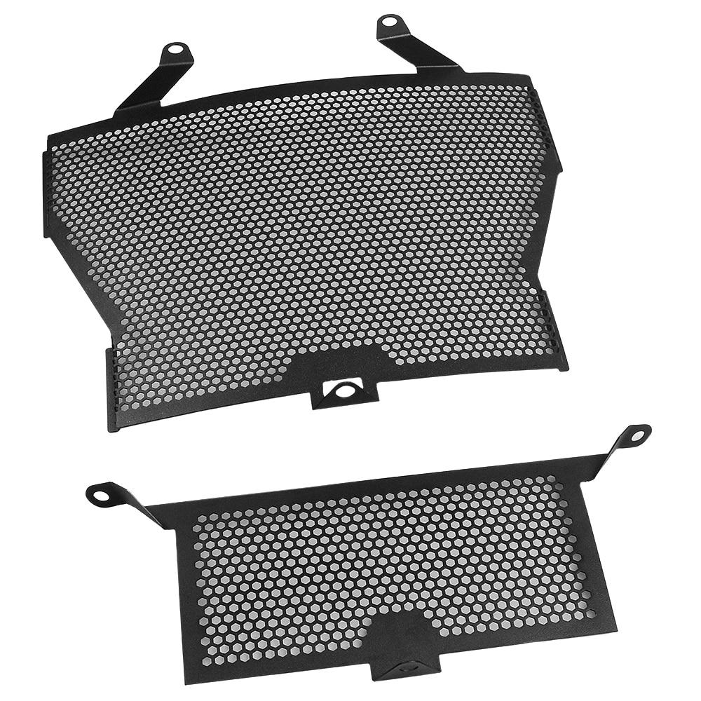 Accessoires moto S1000RR S1000XR Grille de radiateur + refroidisseur d'huile couvercle de Protection pour BMW S1000 RR S1000R HP4 - 5