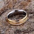Оптовая продажа посеребренная кольцо для женщин, Серебро 2016 мода ювелирных изделий, Округлые блестящий золотой / hdoapuva grbapiia LQ-R100