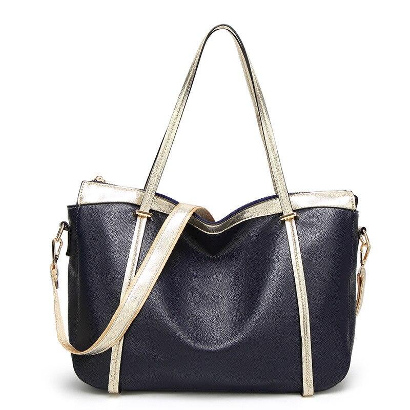 HerMerce Brand Top-Handle Bags For Women 2017 Tote Ladies Hand Bag Female Shoulder Bags Women Leather Handbags bolsa feminina