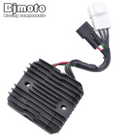 BJMOTO Moto Regulator Voltage Rectifier For Suzuki AN650 Burgman 650 Skywave 650 VLR1800 Intruder C1800R Boulevard C109R VL1500