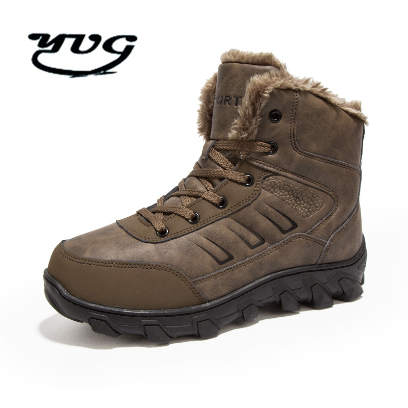 Winter Waterproof Hiking Shoes Men Climbing Shoes Mountain Outdoor Sport Boots Non-Slip Breathable Hiking Sneakers High Quality men s outdoor hunting hiking mountain non slip lace up mesh breathable ankle high boots tactical army desert sport shoes boot