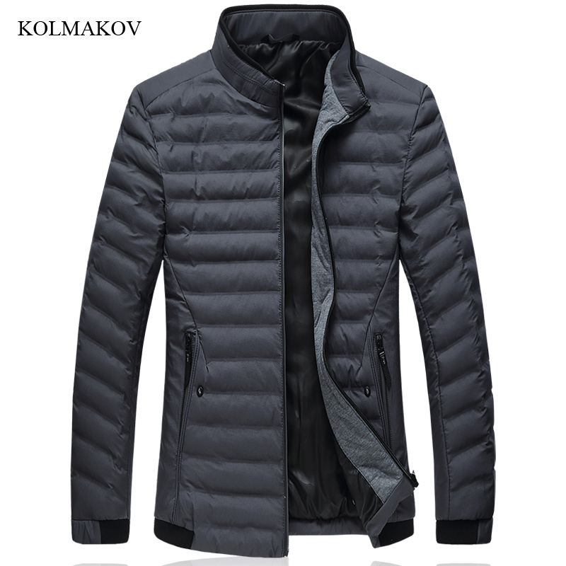 New Arrival Winter Style Men Leisure   Down     Coats   High-quality Stand Collar Men's 90% White Duck   Down     Coat   Dress Plus Size L-7XL