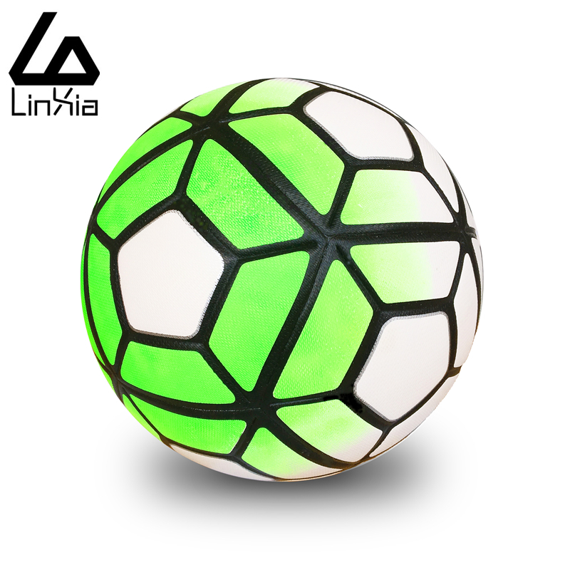 2017 Professional Match Trainning New A+++ Soccer Ball Game Football Anti-slip Granules Ball PU Size 5 Football Balls