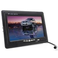 7 Inch TFT LCD Digital Car Rear View Monitor With Waterproof Car Rear View Camera Combo