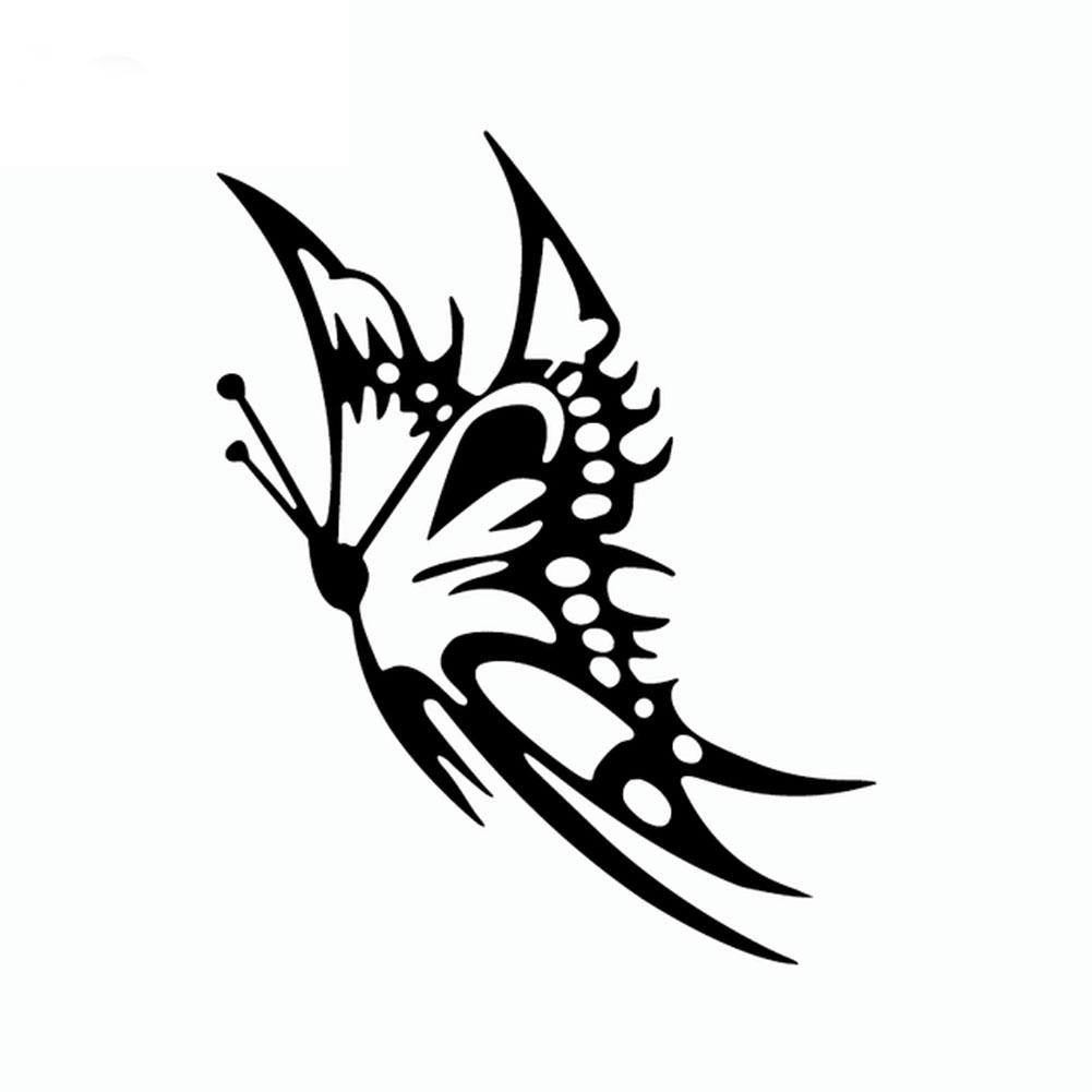 Reflective Butterfly Car Styling Decorative <font><b>Stickers</b></font> Auto <font><b>Windows</b></font> Decals Decor car accessories araba aksesuar image