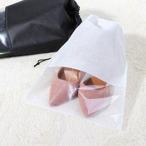 ETya النساء حذاء رجالي حقيبة غير المنسوجة النسيج السفر الرباط أحذية حقائب ملابس الحقيبة حالة المنظم إكسسوارات السفر