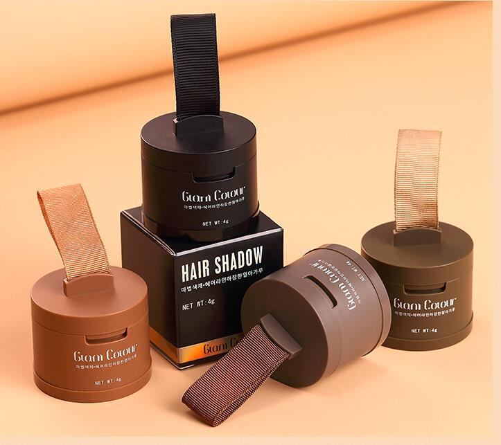 Hair Fluffy Powder Instantly Concealer Black Root Cover Up Natural Instant Coverage Hair Line Shadow Powder #761