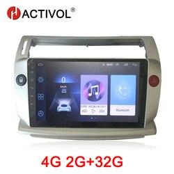 HACTIVOL 2G + 32G Android 9.1 Auto Radio für Citroen C4 C-Triomphe C-Quatre 2004- 2009 auto dvd player auto zubehör 4G multimedia