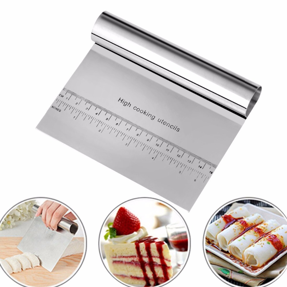top 10 stainless steel dough scraper baking tools pastry brands ...