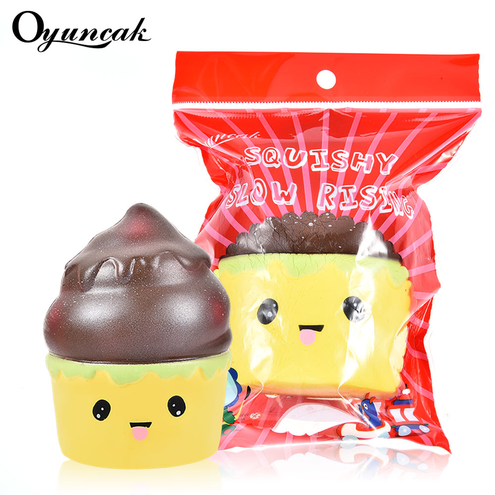 купить Oyuncak Squishy Antistress Funny Ice Cream Squishe Stress Emoji Box Practical Jokes Gadget Anti-stress Gags Novelty Relief Toys