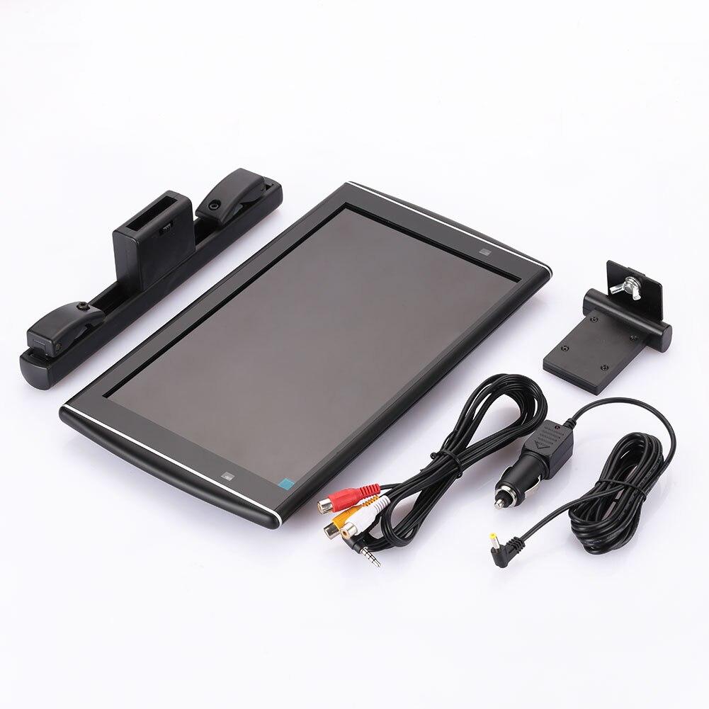 Vehemo 11,6 дюйм(ов) DC 12 В ультра тонкий легкий монитор автомобиля MP5 Дисплей USB монитор мультимедиа Универсальный подголовник