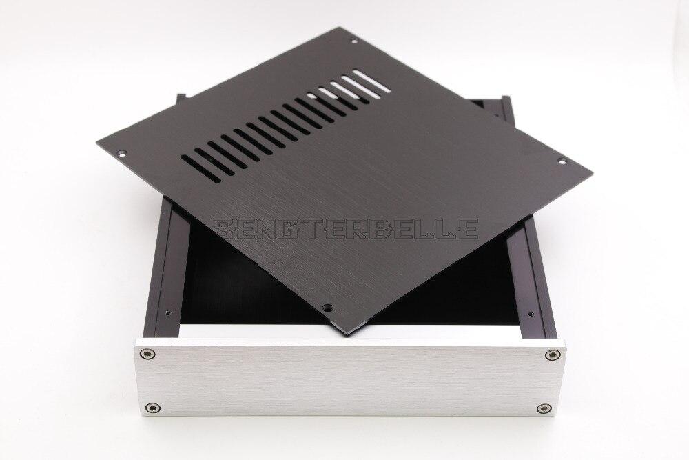 T-2205 Full Aluminum Headphone Enclosure Amplifier Chassis DAC Box Premplifier Case