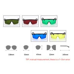 Image 3 - 5 צבעים בטיחות משקפיים ריתוך משקפי משקפי שמש ירוק צהוב עין הגנת עבודה רתך מתכוונן בטיחות מאמרים