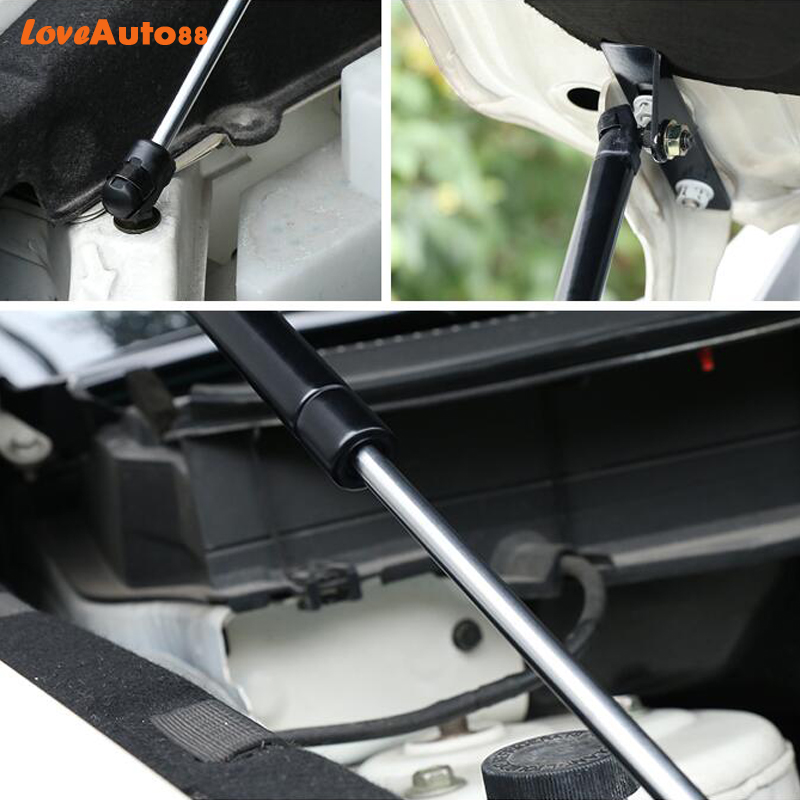 Image 3 - Car Styling 2PCS For Mazda CX 5 CX5 2017 2018 2019 Front Hood Engine Cover Hydraulic Rod Strut Spring Shock Bar-in Interior Mouldings from Automobiles & Motorcycles