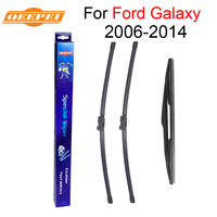 QEEPEI Front And Rear Wiper Blade No Arm For Ford Galaxy 2006 2014 High Quality Natural