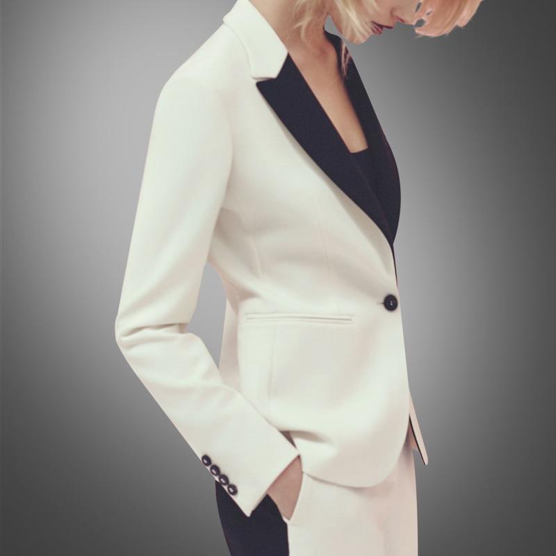 Регулярные Blaser Блейзер Для женщин jaqueta feminina Осень Новая мода костюм, европа и высокого класса Повседневное Малый Бизнес костюм