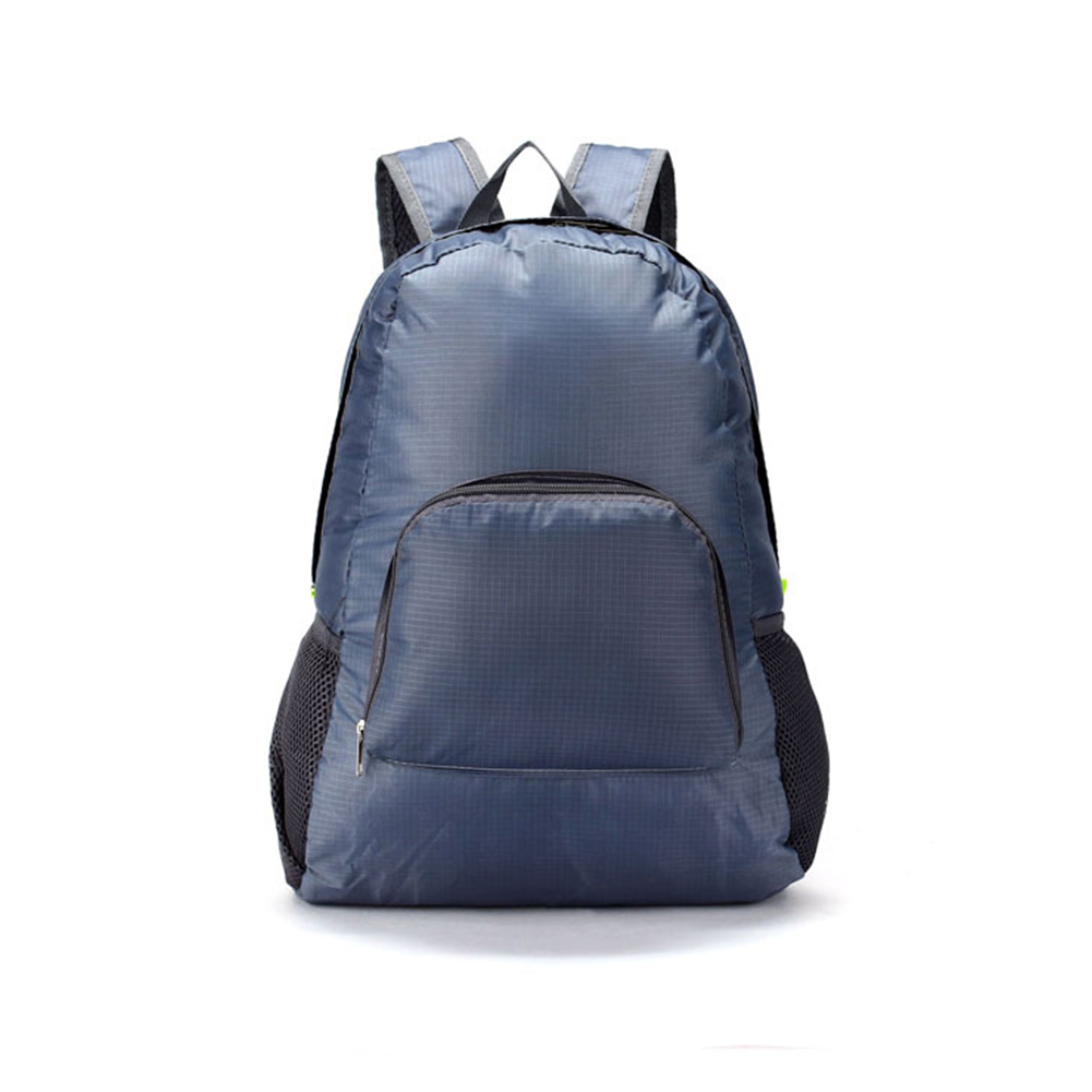 New Travel Backpacks Zipper Soild Nylon Back Pack Daily Traveling Women Men Shoulder Bags Folding Bag #20