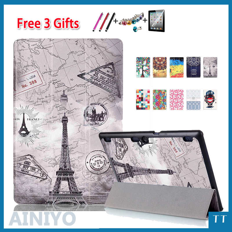 Ultra Slim Stand Case For Lenovo Tab2 A10-70 Tab2 A10-30 Tab3 10 Plus Tab3 10 Business TB-X103F TB2-X30F TB3-X70F Tablet +gifts tab2 a10 70f tempered glass screen protector for lenovo tab 2 a10 70 tab3 x70f x70m tab 10 tb x103f
