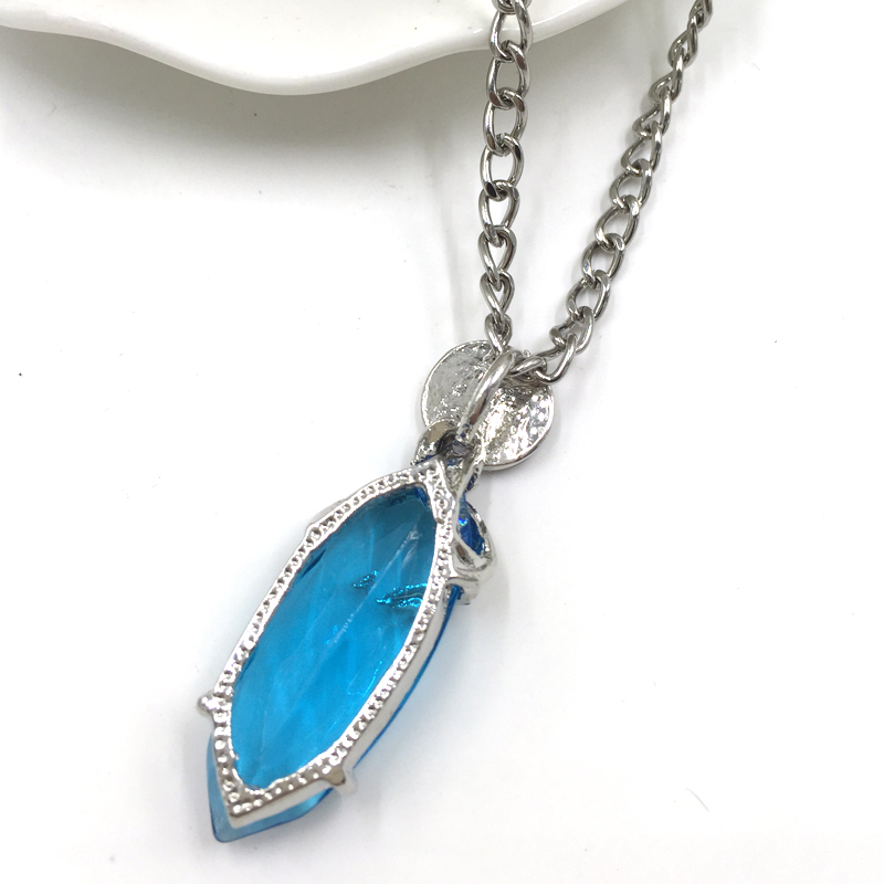 Free shipping hot sale anime jewelry final fantasy yuna pendant free shipping hot sale anime jewelry final fantasy yuna pendant necklace blue resin fashion necklace wholesale and retail en collares pendientes de joyera aloadofball Image collections