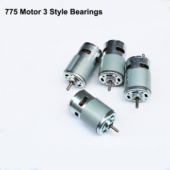 DC 12V-24V 775 Motor High Speed Large Torque DC Motor Electric Tool Electric Machinery