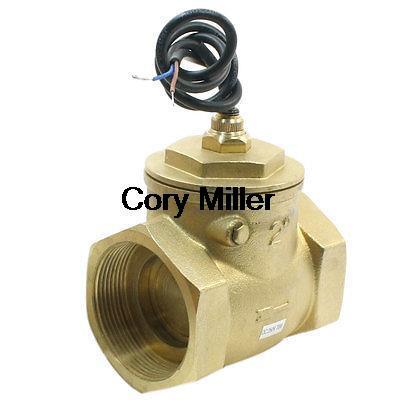 SEN-DB50 70 W 150L/Min 2PT interrupteur de débit d'eau réglable en ligne