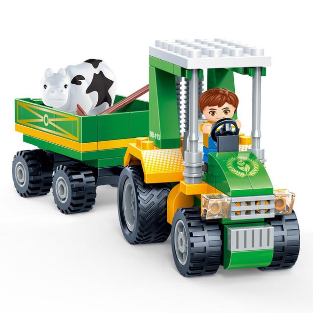 Farm Car Blocks Set
