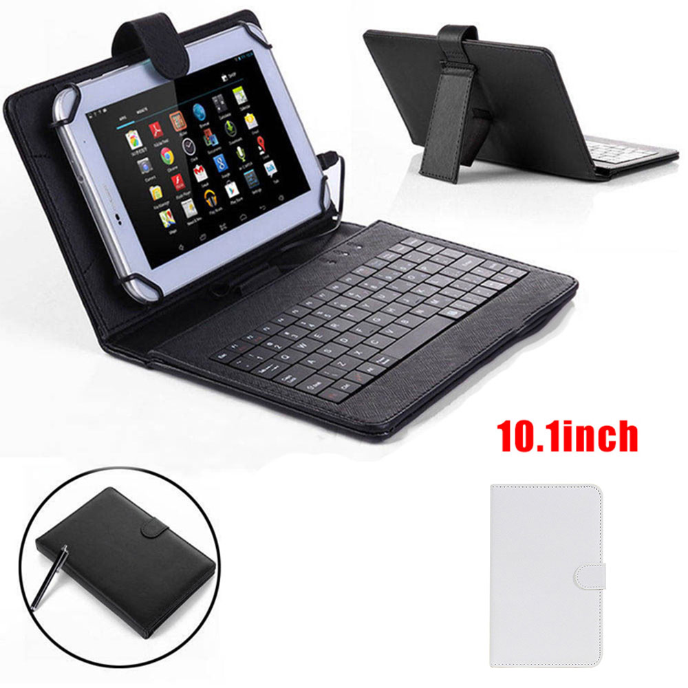 amzdeal Universal PU Leather 10.1 Inches Tablets Computer St