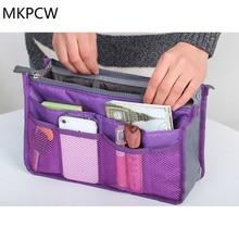 2017 Real New Solid 3 Colors Make Up Organizer Bag Women Men Casual Travel Functional Cosmetic Bags Storage In Makeup Handbag