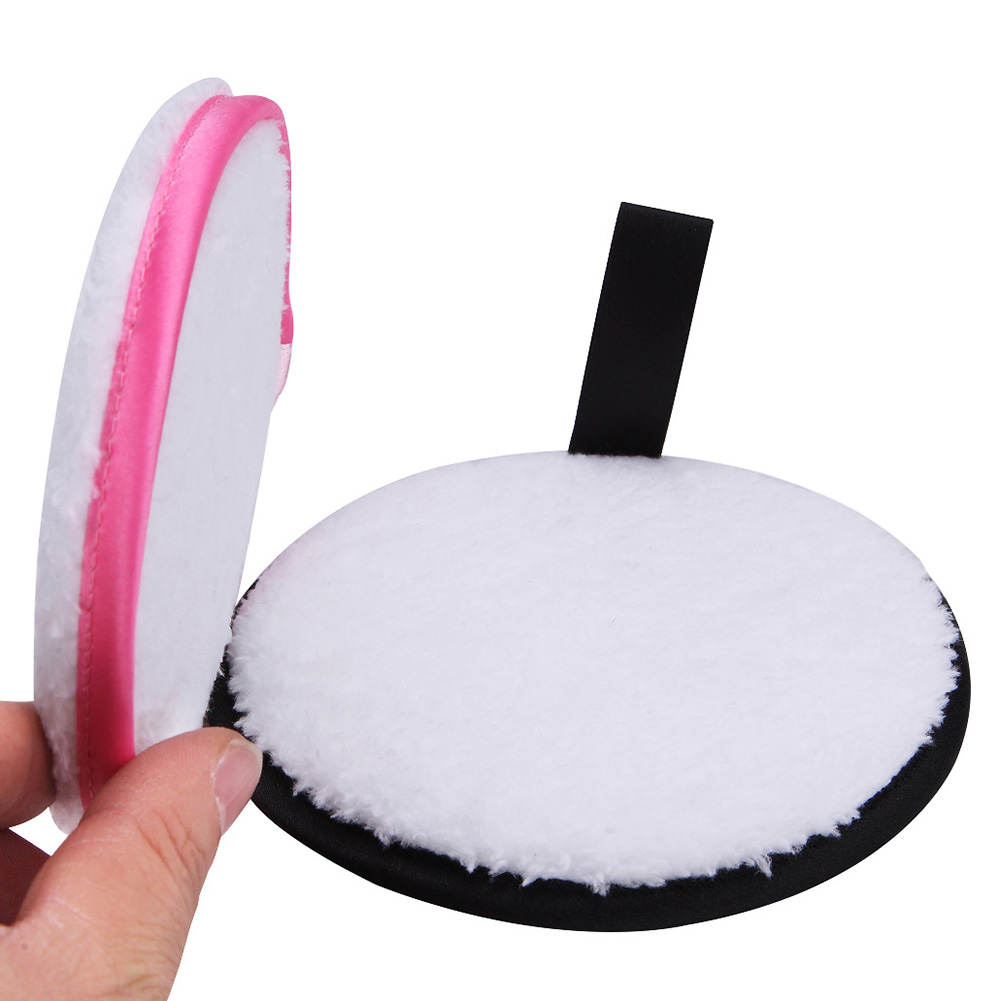 2 Pcs/Set Microfiber Makeup Remover Towels Soft Washable Face Cleansing Plush Towels HJL2018
