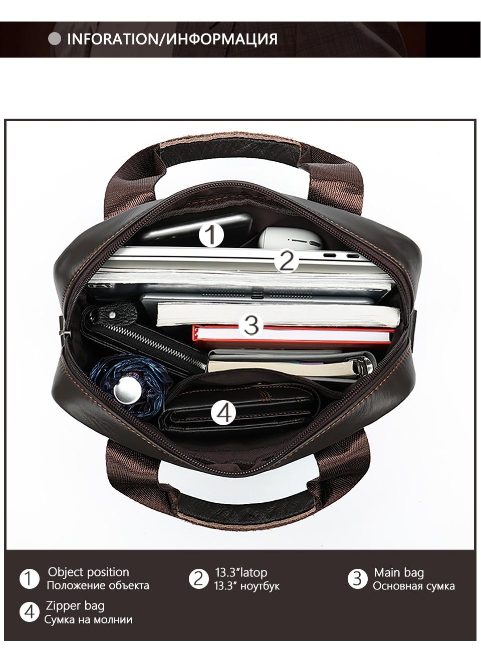 HTB1SCaQbUCF3KVjSZJnq6znHFXaJ MVA genuine leather men's bag messenger bag men leather crossbody bags for men handbag business men's laptop/shoulder bag 8568