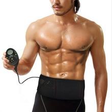 EMS trainer abdominal toning massage belt electric slimming massage belt Muscle stimulator Unisex Abs Muscle toner belt