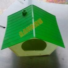 4 шт./партия пластиковое Птичье гнездо, аксессуары для птиптиптичьих лавок, диких Птичье гнездо, домик для птиц