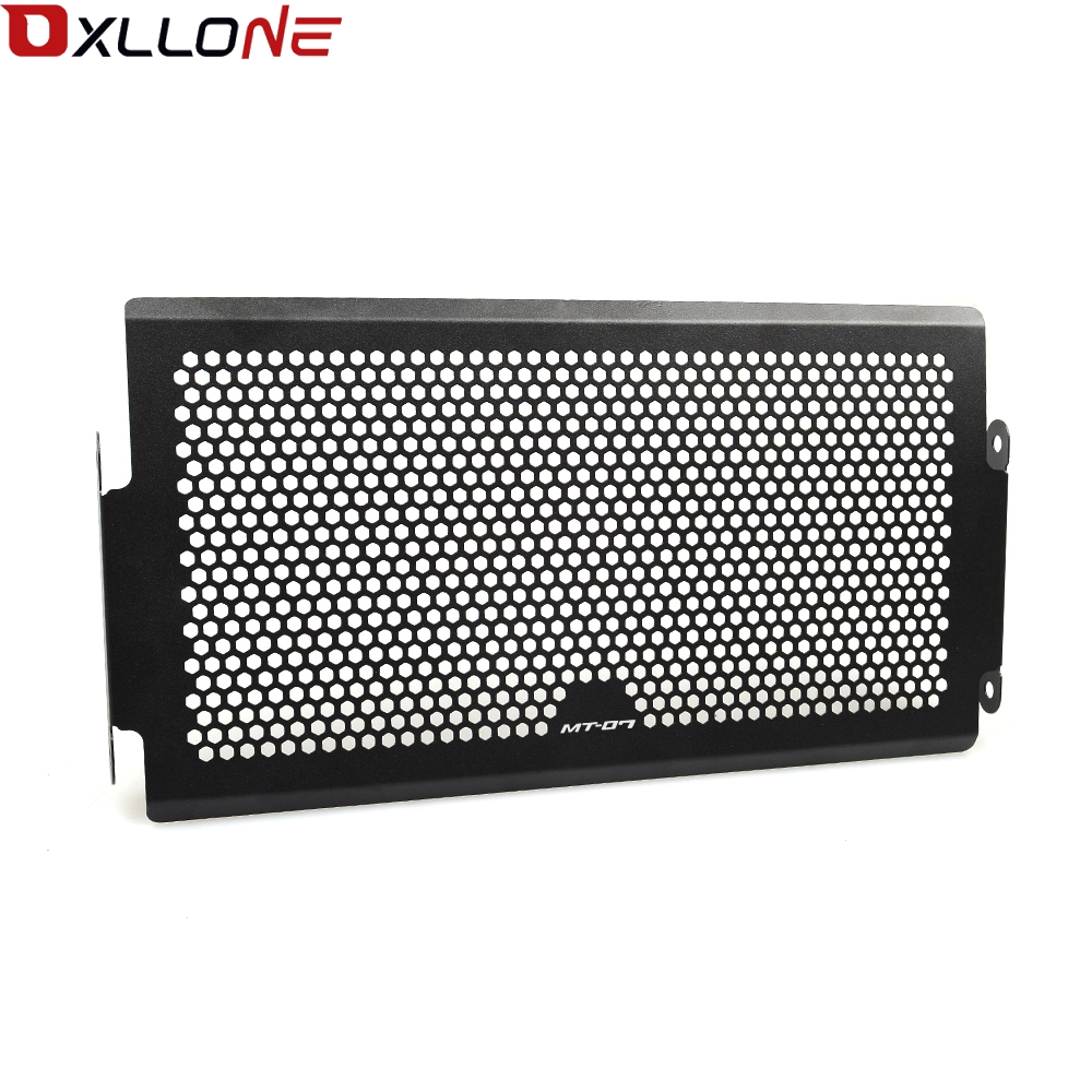 Image 3 - For Yamaha Mt07  Mt 07 FZ07 FZ 07 MT 07 2014 2018 XSR700 radiator protective cover Guards Radiator Grille Cover Protecter-in Covers & Ornamental Mouldings from Automobiles & Motorcycles