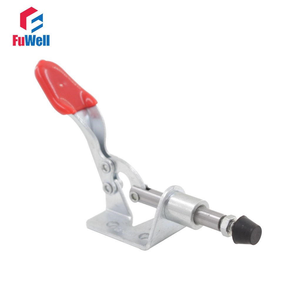 5pcs GH-301AM Toggle Clamp Holding Latch 45kg Capacity Push Pull Action Quick Release Hand Tool Toggle Clamping nrh 5619a 230 sus 304 stainless steel latch clamp wholesale price high quality adjustable latch action push pull toggle clamp
