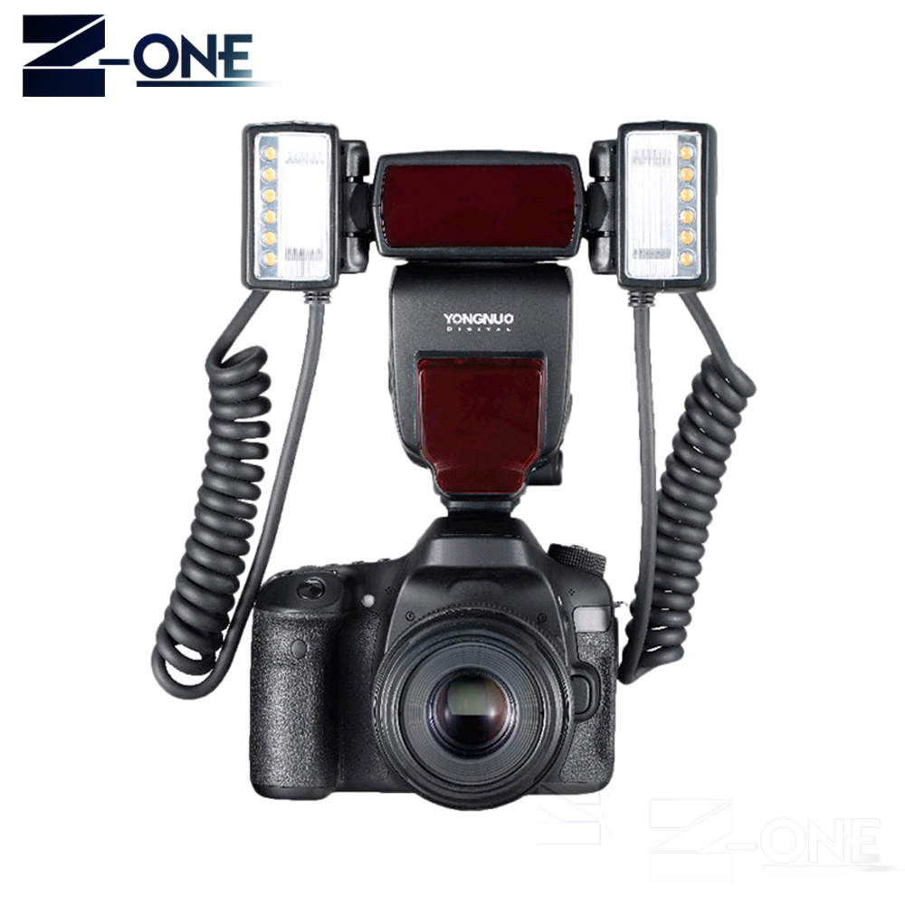 Yongnuo YN24EX E TTL Macro Flash Speedlite for Canon EOS 1Dx 5D3 6D 7D 70D 80D