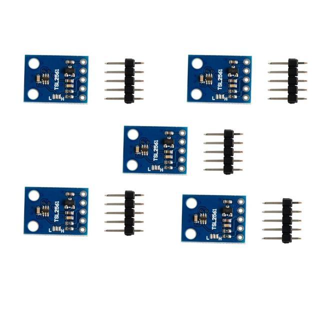 5 шт./лот TSL2561 фотолюминесцентный датчик разрыва инфракрасного света, интегрирующий датчик для Arduino DIY Kit FZ1063