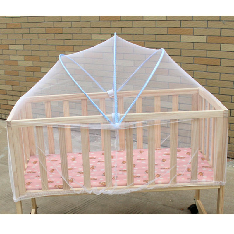 Baby Mosquito Net Babies Cradle Bed Mesh Outdoor Mosquito Nets Insect Control Crib Folding Portable Baby Cradle Cover