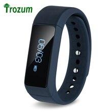 TROZUM I5 Плюс Умный Браслет Bluetooth 4.0 Водонепроницаемый Сенсорный Экран Фитнес-Трекер Здоровья Браслет Сна Монитора, Смарт-Часы