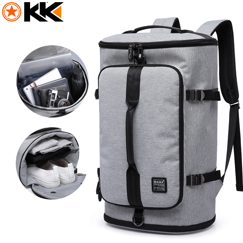 KAKA Large Capacity 15.6 inch Laptop bag Men Backpack Travel Bags For Teenagers School Bags Nylon Waterproof Computer Backpacks bestlife large capacity light weight bags nylon bagpack urban travel backpack 15 6 laptop bag school bags for teenagers