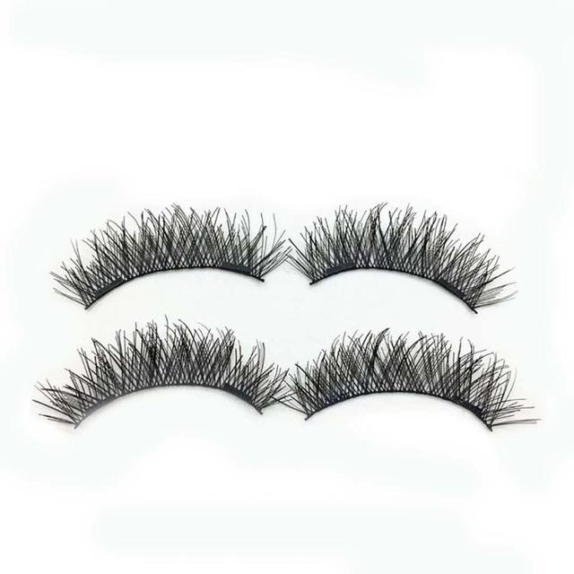 3D Double Magnetic False Eyelashes  1