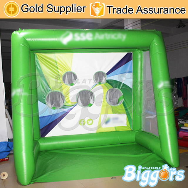 Commercial Small Size Inflatable Football Toss Target Game For