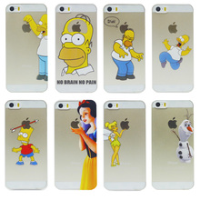 2014 New arrive 16 stylel Case For iphone 5 5s case Transparent Snow White Hand grasp