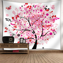 Home Animal Tree Of Life Tapestry Psychedelic Magical Mysterious Wall Hanging Bedroom Livingroom Dorm Art