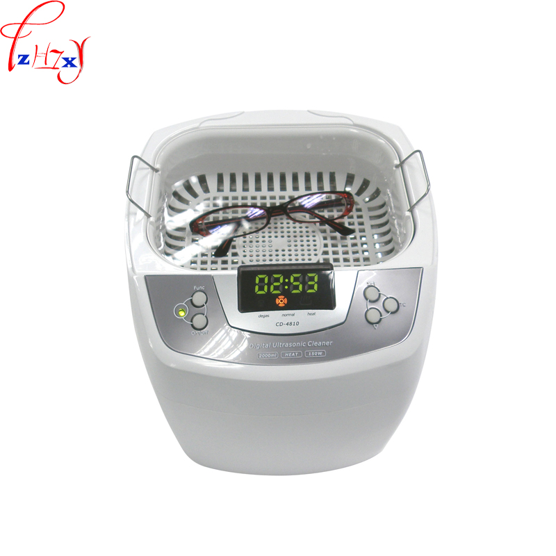 Ultrasonic cleaning machine CD-4810 household intelligent ultrasonic cleaning machine to clean the glasses razor 220V