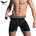 Norcotton new mens underwear boxer men boxers brand panties calzoncillos men's underpants shorts underwear long boxershorts man