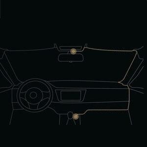 Image 5 - Xiaomi 1080P Dash Cam Carcorder 1S del coche DVR grabadora de conducción 3D de reducción de ruido de IPS pantalla Local de Control de voz no STARVIS