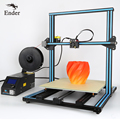 Hot sale CR-10 4S 400mm 3D printer large Print size 3D Printer KIT DIY and 200g Filaments,Hotbed,LCD,8G SD card Creality 3D