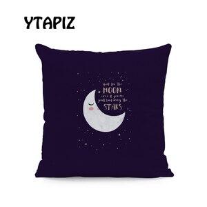 Image 5 - White Moon Cloud Star Alphabet Islam Saudi Arabia Castle Ramadan Pattern Kaseem Mubarek 45X45Cm Velvet Decorative Cushion Pillow